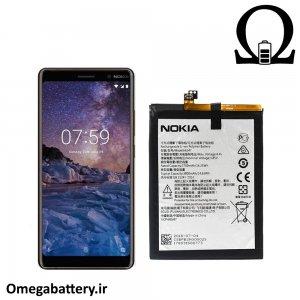 قیمت خرید باتری اصلی نوکیا Nokia 7 Plus - HE347