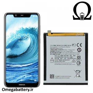 قیمت خرید باتری اصلی نوکیا Nokia 6.1 plus _ Nokia X6 - HE342