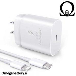 قیمت خرید شارژر، کابل شارژ و آداپتور اصلی آیفون iPhone 11