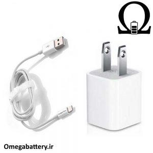 قیمت خرید شارژر، کابل شارژ و آداپتور اصلی آیفون iPhone XS Max