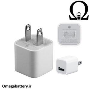 قیمت خرید شارژر اصلی اپل 1 آمپر و 5 ولت - Apple MD810
