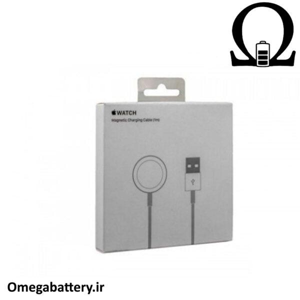 قیمت خرید شارژر و کابل اصلی اپل 1 آمپر و 5 ولت - Apple Watch - A1570