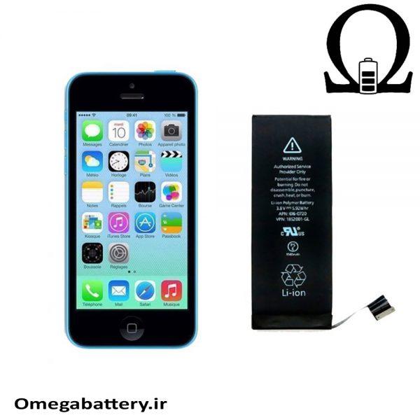 قیمت خرید باتری اصلی آیفون Iphone 5C به همراه آموزش تعویض