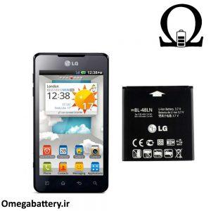 قیمت خرید باتری اصلی ال جی LG Optimus 3D Max-P720 (BL-48LN) 1