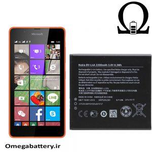قیمت خرید باتری اصلی مایکروسافت Microsoft Lumia 540- BV-L4A