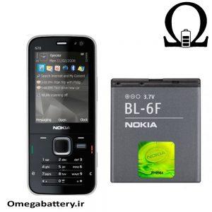 قیمت خرید باتری اصلی نوکیا NOKIA BL-6F