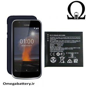 قیمت خرید باتری اصلی نوکیا Nokia 1- BV-5V
