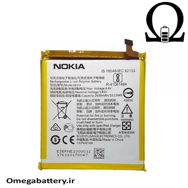 قیمت خرید باتری اصلی نوکیا Nokia 3 – HE319 1
