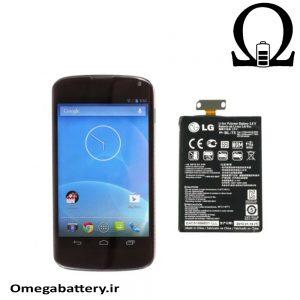 قیمت خرید باتری اصلی گوشی ال جی LG Nexus 4-BL-T5