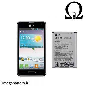 قیمت خرید باتری اصلی گوشی ال جی LG Optimus F3 (BL-59JH) 1