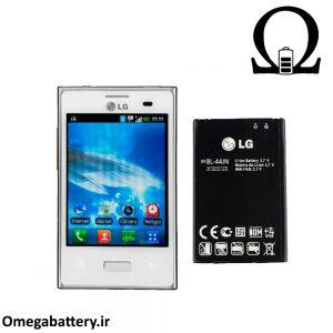 قیمت خرید باتری اصلی گوشی ال جی LG Optimus L3- E400 (BL-44JN) 1
