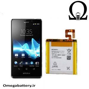 قیمت خرید باتری اصلی گوشی سونی Sony Xperia T- LT30 با آموزش تعویض