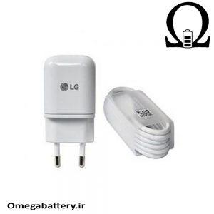 قیمت خرید شارژر اصلی الجی 3 آمپر و 5 ولت – LG MCS-N04ED