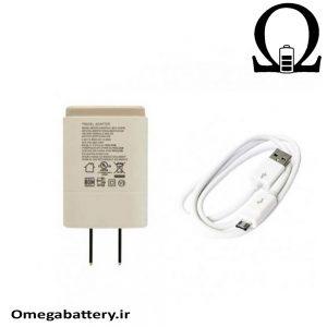 قیمت خرید شارژر اصلی ال جی 0.85 آمپر و 5 ولت – LG MCS 02WPE
