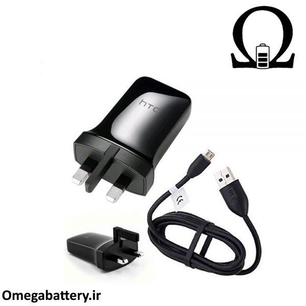 قیمت خرید شارژر اصلی اچ تی سی 1.5 آمپر و 5 ولت - HTC TC P900-UK