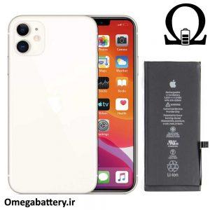 قیمت خرید باتری اصلی گوشی اپل Apple iPhone 11