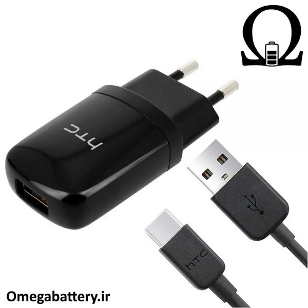 قیمت خرید شارژر، کابل شارژ و آداپتور فست شارژ اصلی اچ تی سی (HTC 10 (M10