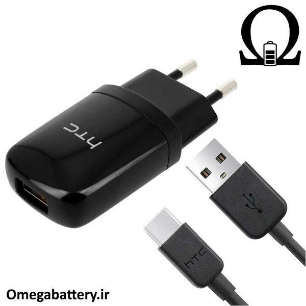 قیمت خرید شارژر، کابل شارژ و آداپتور فست شارژ اصلی اچ تی سی HTC U Ultra