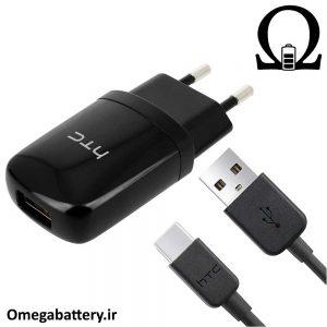 قیمت خرید شارژر، کابل شارژ و آداپتور فست شارژ اصلی اچ تی سی HTC U11