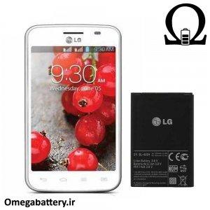 قیمت خرید باتری اصلی گوشی ال جی LG Optimus L4 ii dual E445 – BL-44JH