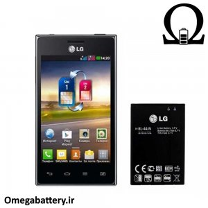 قیمت خرید باتری اصلی گوشی ال جی LG Optimus L5 dual E615 – BL-44JN