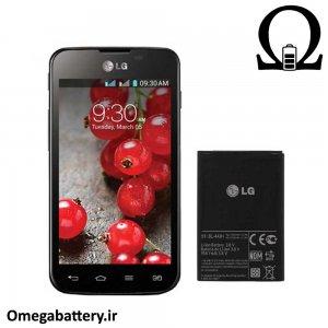 قیمت خرید باتری اصلی گوشی ال جی LG Optimus L5 ii dual E455 – BL-44JH