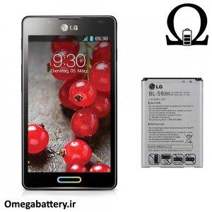 قیمت خرید باتری اصلی گوشی ال جی LG Optimus L7 ii P710 – BL-59JH