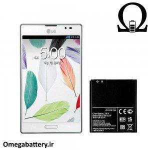 قیمت خرید باتری اصلی گوشی ال جی LG Optimus VU ii F200